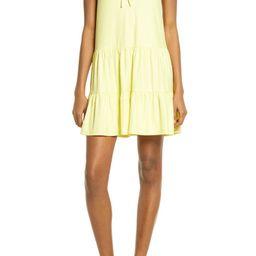 Harper Drop Waist Jersey Minidress | Nordstrom