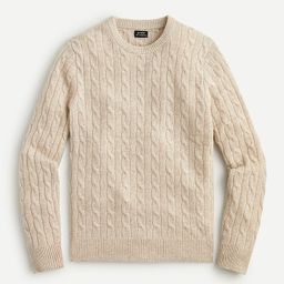 Cashmere cable-knit sweater | J.Crew US
