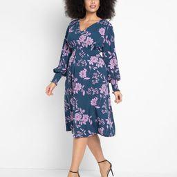 Smocked Waist Midi Dress   Eloquii