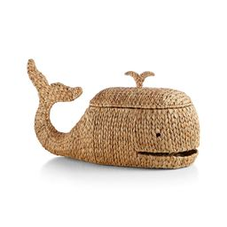 Whale Storage Basket + Reviews | Crate and Barrel | Crate & Barrel