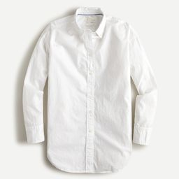 Relaxed-fit washed cotton poplin shirt | J.Crew US
