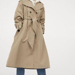 Oversized trenchcoat   H&M (UK, IE, MY, IN, SG, PH, TW, HK, KR)