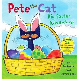 Big Easter Adventure (Pete the Cat Series) (Mixed Media Product) (Hardcover) by James Dean and Ki...   Target