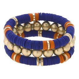 Emberly Set of 3 Beaded Stacking Bracelets | Nordstrom