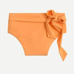 High-cut waist bikini bottom   J.Crew US