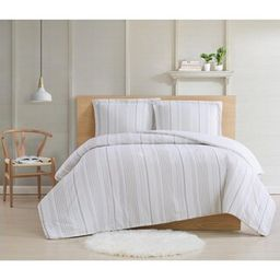 Warm Hearth Stripe 2-Piece Twin XL Comforter Set | The Home Depot