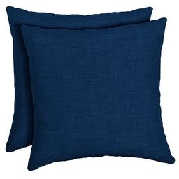 Arden Selections Sapphire Leala Throw Pillow, 2 pack - 16 in L x 16 in W x 5 in H | Overstock