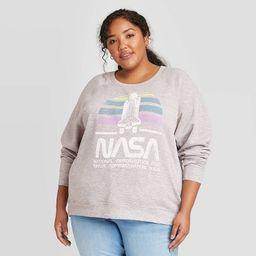 Women's NASA Graphic Sweatshirt - Gray | Target