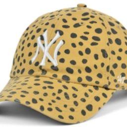 '47 Brand Women's New York Yankees Cheetah Clean Up Cap | Macys (US)