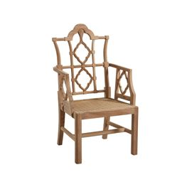 Pair of Fretwork Outdoor Chairs | Brooke and Lou