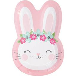 24ct Bunny Shaped Dinner Plates | Target