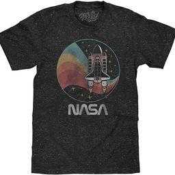 NASA Space Shuttle Shirt - NASA Worm Logo Confetti Stars T-Shirt | Amazon (US)