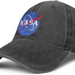 Vintage NASA Hats Baseball Caps Men Embroidered Unisex Spaceship Dad Hat Adjustable Worm NASA Bas... | Amazon (US)