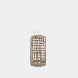 Seagrass Cage Carafe | Amber Interiors