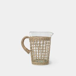 Seagrass Cage Pitcher | Amber Interiors