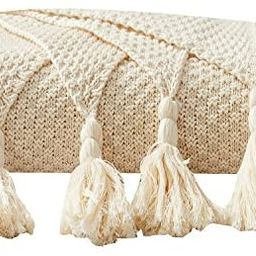 Adory Sweety Throw Blanket Ultra Soft Natural Premium for Couch Sofa Bed with Handmade Tassels fo... | Amazon (US)