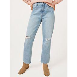 Free Assembly Women's Original 90's Straight Jeans | Walmart (US)