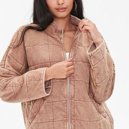 Quilted Zip-Up Jacket | Forever 21 (US)