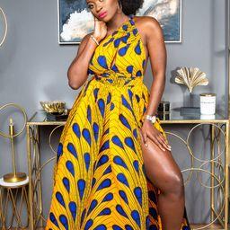 African dress, African maxi dress, African clothing for women, Ankara dress, Dashiki dress, Women... | Etsy (US)
