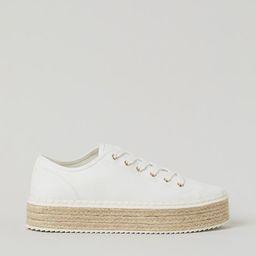 Espadrille Sneakers | H&M (US)