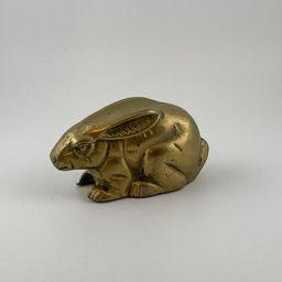Vintage Brass Rabbit Figurine Paper Weight / Monty Python / Bunny / Knick Knack / Office Decor | Etsy (US)