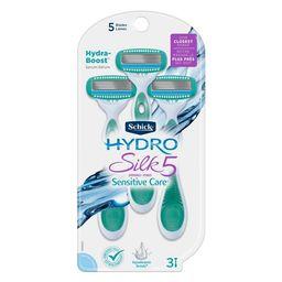 Schick Hydro Silk 5 Women's Disposable Razors - 3ct   Target