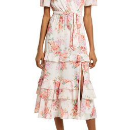 Ever New Floral Tiered Ruffle Dress | Nordstrom | Nordstrom