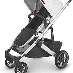 UPPAbaby Cruz V2 Stroller - Bryce (White Marl/Silver/Chestnut Leather) | Amazon (US)