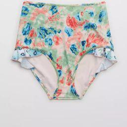 Aerie Ruffle High Waisted Bikini Bottom   American Eagle Outfitters (US & CA)