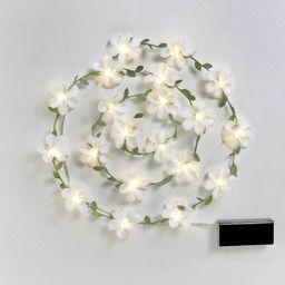 Spring Floral Fairy String LED Lights White - Spritz™   Target