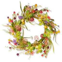 """24"""" Butterfly Garden Accents Easter Wreath - National Tree Company   Target"""