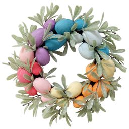 Celebrate Easter Together Rainbow Eggs Artificial Botanical Wreath | Kohl's