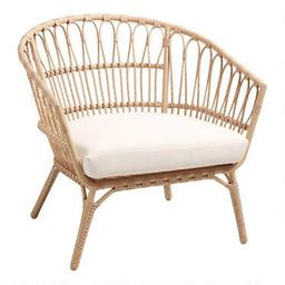 All Weather Wicker Lenco Outdoor Chair | World Market