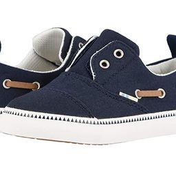 TOMS Kids Pasadena (Toddler/Little Kid) (Navy Canvas) Boy's Shoes   Zappos