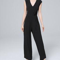 Everyday Jersey Knit Jumpsuit | White House Black Market