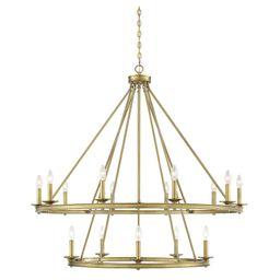 Middleton 45 Inch 15 Light Chandelier by Savoy House | Capitol Lighting 1800lighting.com