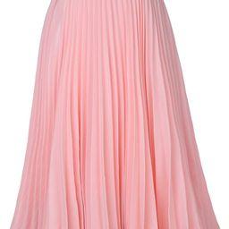 Women's High Waist Pleated A-Line Swing Skirt KK659 | Amazon (US)