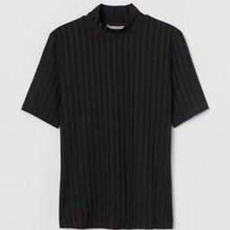 Ribbed Top   H&M (US)