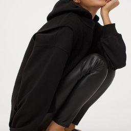 Imitation leather leggings | H&M (UK, IE, MY, IN, SG, PH, TW, HK, KR)