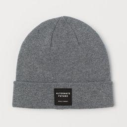 Fine-knit hat   H&M (UK, IE, MY, IN, SG, PH, TW, HK, KR)