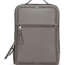 Kaya Faux Leather Laptop Backpack   Nordstrom