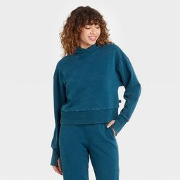 Women's French Terry Acid Wash Hoodie - JoyLab™   Target