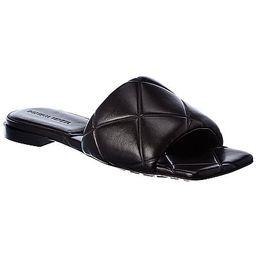 Bottega Veneta The Lido Leather Slide | Ruelala