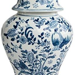 OneWorld Memorials Blue Bird Ceramic Cremation Urn - Large - Holds Up to 200 Cubic Inches of Ashe... | Amazon (US)