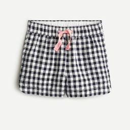 Girls' fishtail-hem short | J.Crew US