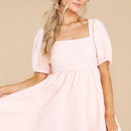 One Kiss Away Blush Pink Dress | Red Dress