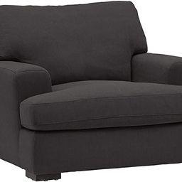 "Amazon Brand – Stone & Beam Lauren Down-Filled Oversized Living Room Accent Armchair, 46""W, Pep... | Amazon (US)"