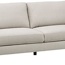 "Amazon Brand – Rivet Midtown Contemporary Upholstered Sofa Couch, 92.1""W, Cream | Amazon (US)"