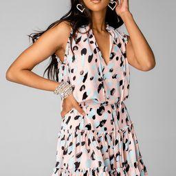 Sage Tie Waist Mini Dress - Malibu (Pre-Order) | BuddyLove