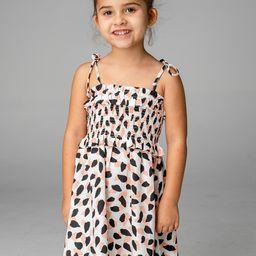 Vivienne Girl's Mini Dress - Flamingo | BuddyLove